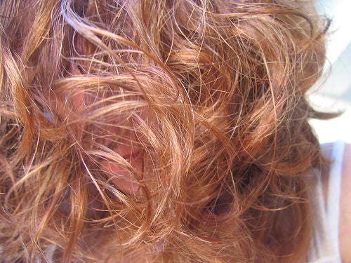 Pintar cabelo com extratos naturais
