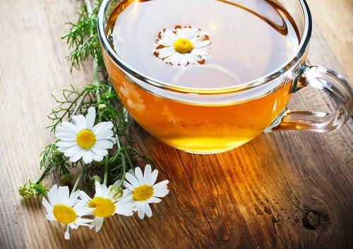 Chá de camomila para a infecção intestinal