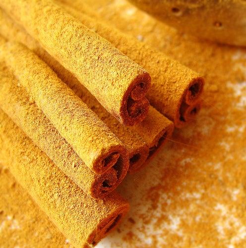 uma colher de canela e mel