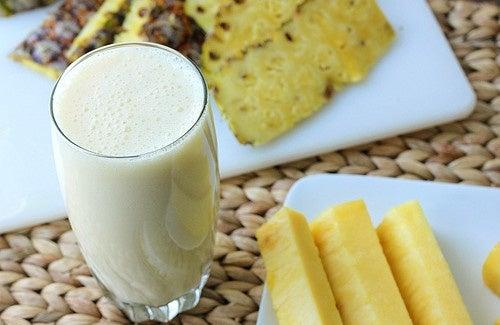 Vitamina abacaxi para prisão de ventre