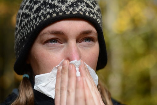 Espirros limpam as vias nasais