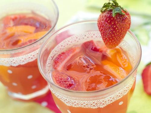 Jugo-de-fresas