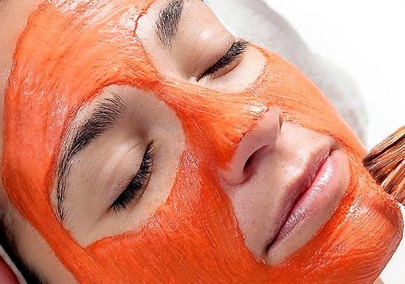 Máscara de cenoura para pele do rosto