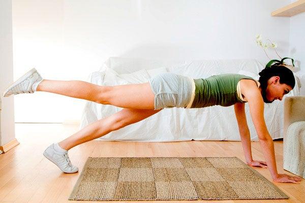 Exercícios localizados para queimar gordura