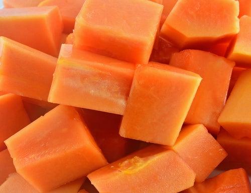 Creme de Papaya para a pele