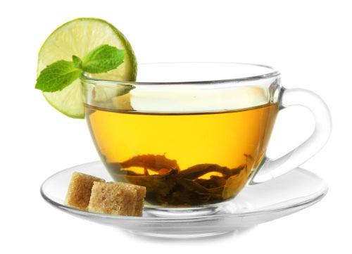Chá verde para rejuvenescer
