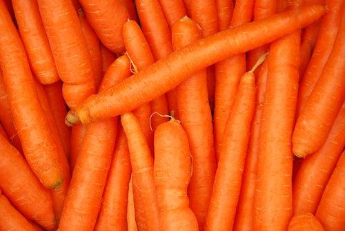 Cenoura faz bem ao cabelo