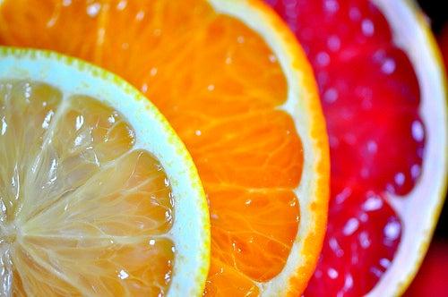cítricos para ajudar a tratar a anemia
