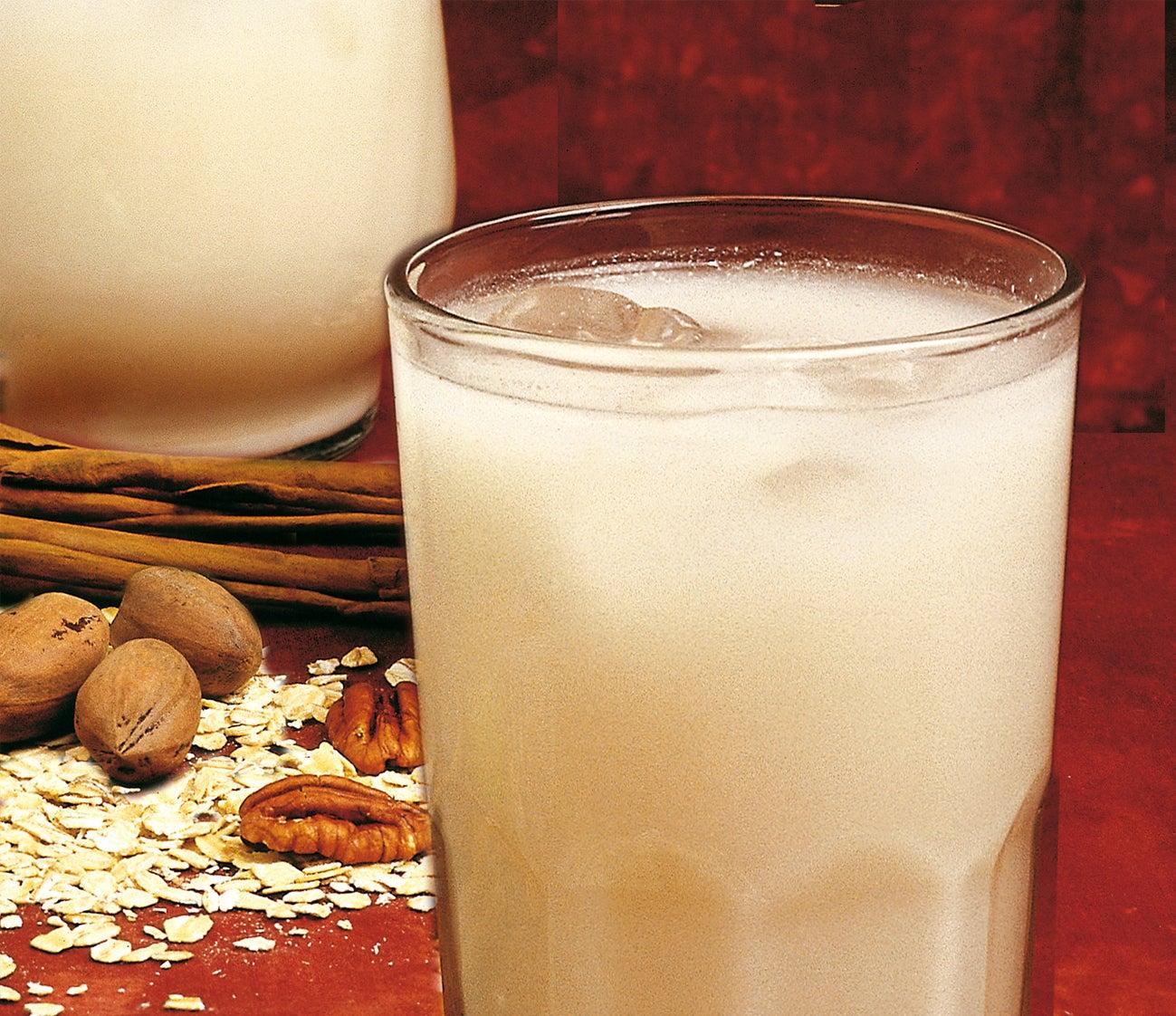 Bebidas com leite e aveia para mulheres