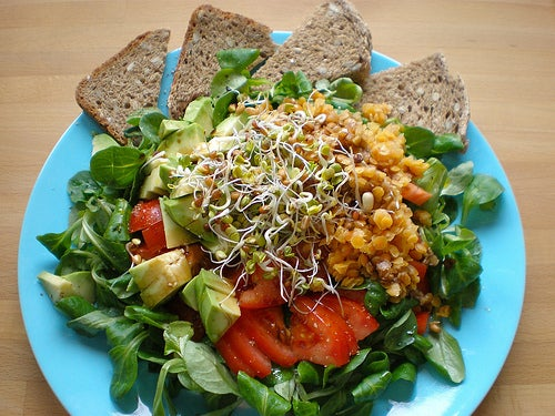 Dieta con salada para diminuir papada