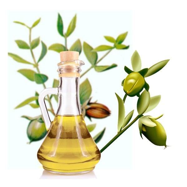óleo natural para os cabelos