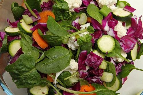 salada para combater os triglicérides altos