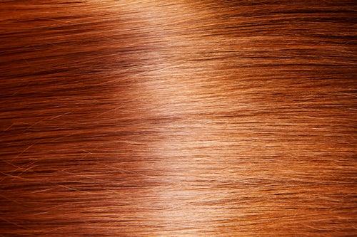 Dar brilho ao cabelo com vinagre de maçã