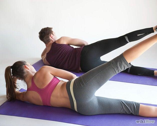 Exercício de pilates para reduzir medidas das coxas