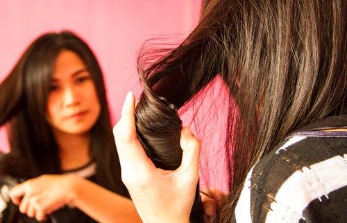 Pasar chapinha no cabelo