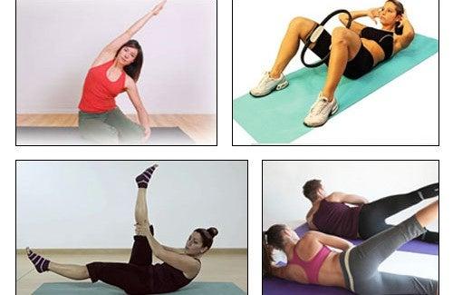 5 tipos de exercício de Pilates para reduzir a cintura, quadril e coxas