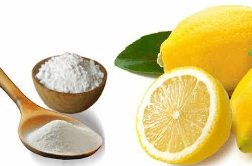 Cura com bicarbonato de sódio e limão