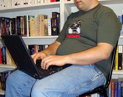 Sedentarismo faz engordar