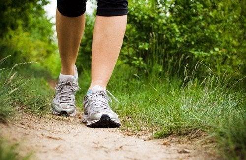 Os benefícios de trinta minutos de caminhada diária