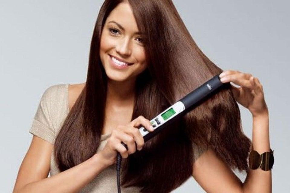 plancha de cabelo