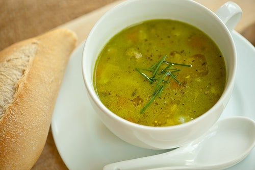 Sopa de verdura para emagrecer