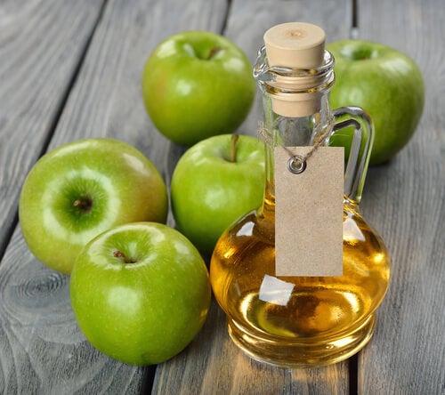 vinagre de maçã e