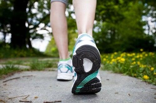 Caminhar para perder gordura