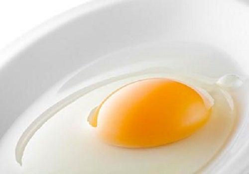 Clara del ovo