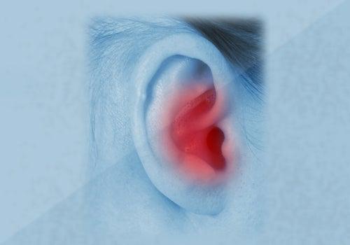 Dor de ouvido tampado