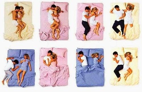Você sabia que a posição em que um casal dorme diz muito sobre a relação?