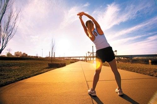 Fazer Exercícios e manter hábitos saudáveis
