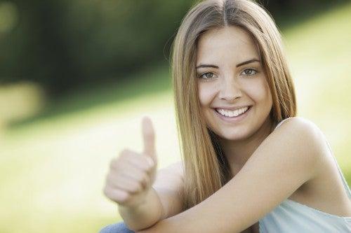 Pensamento positivo é hábitos saudáveis