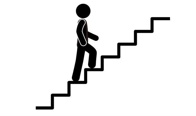 bebefícios de subir escadas