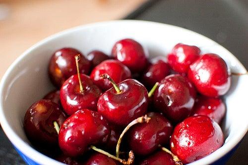 Cerejas para desinflamação