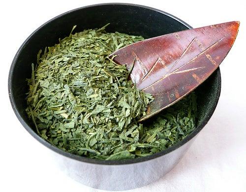chá verde para o organismo