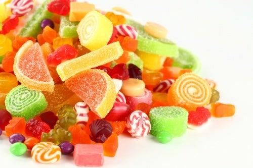 doces: alimentos que reduzem anos de vida