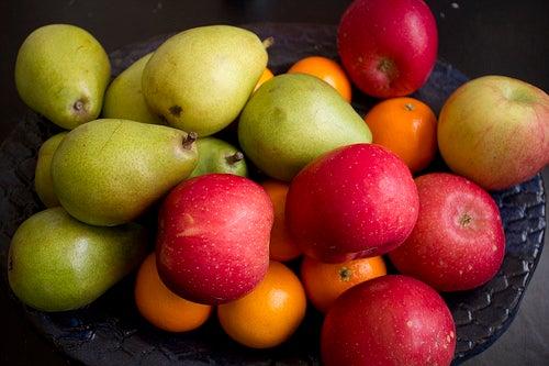 frutas para reduzir o consumo de calorias