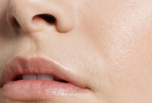 pele áspera