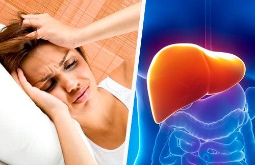 Relação entre a dor de cabeça e o fígado