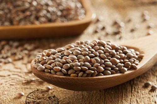 Lentilhas para reduzir o colesterol