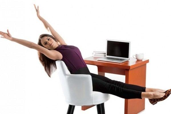 exerícios no escritorio