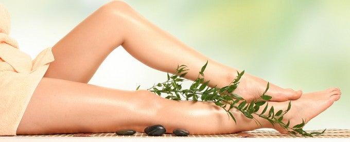 Massagem nas pernas para melhorar a circulação