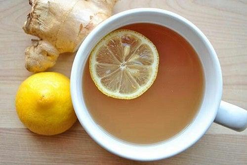 Receita de Xarope de gengibre, mel e limão