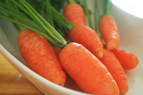 Cenoura ajuda a atacar a tosse seca