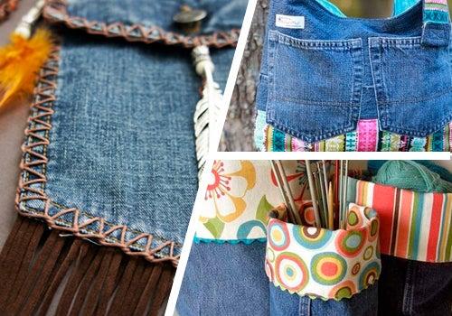 9 maneiras de reutilizar o seu jeans velho