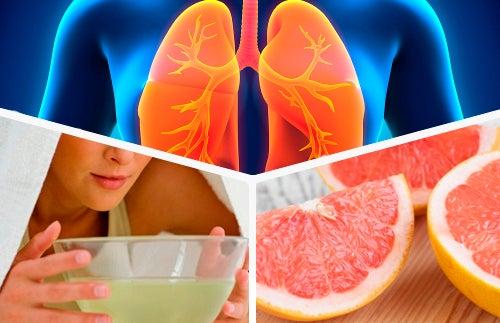 A dieta para desintoxicar os pulmões