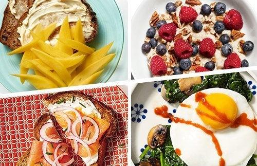 8 opções de café da manhã que podem te ajudar perder peso