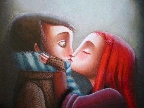 A importância do beijo para encontrar o melhor parceiro