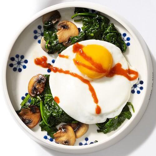 salada de ovos