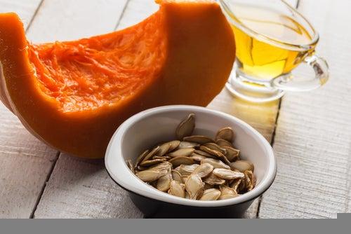 Abobora para reduzir níveis de ácido úrico